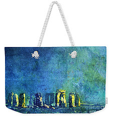 Stonehenge In Moonlight Weekender Tote Bag