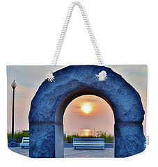 Sunrise Through The Arch - Rehoboth Beach Delaware Weekender Tote Bag