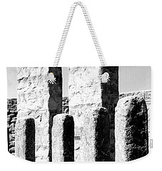 Weekender Tote Bag featuring the photograph Stonehenge Replica by Chalet Roome-Rigdon