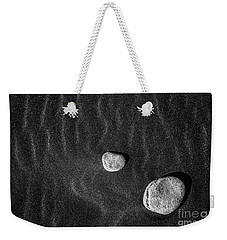Stones In The Sand Weekender Tote Bag by Gunnar Orn Arnason