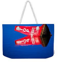 Stop No Boats Weekender Tote Bag by Naomi Burgess