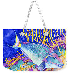 Stoplight Parrotfish Weekender Tote Bag