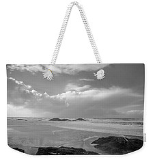 Storm Approaching Weekender Tote Bag by Roxy Hurtubise