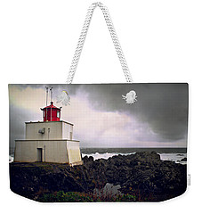 Storm Approaching Weekender Tote Bag by Micki Findlay