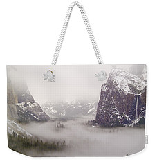 Storm Brewing Weekender Tote Bag by Bill Gallagher