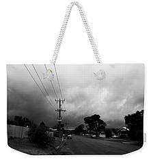 Weekender Tote Bag featuring the photograph Storm Closing In  by Naomi Burgess