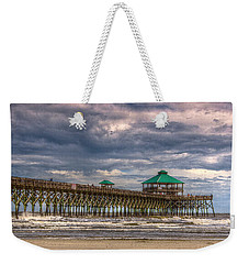 Storm Clouds Approaching - Hdr Weekender Tote Bag