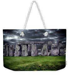 Storm Clouds Over Stonehenge Weekender Tote Bag