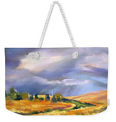 Storm Colors Weekender Tote Bag by Rae Andrews