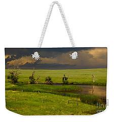Storm Crossing Prairie 1 Weekender Tote Bag