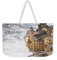 Storm In Camogli Weekender Tote Bag