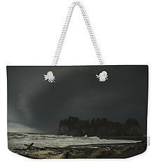 Weekender Tote Bag featuring the photograph Storm Is Coming North West Wa by Yulia Kazansky