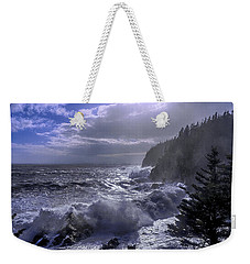 Storm Lifting At Gulliver's Hole Weekender Tote Bag