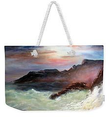 Storm On Mount Desert Island Weekender Tote Bag