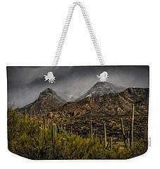 Storm Over Catalinas Aso Weekender Tote Bag