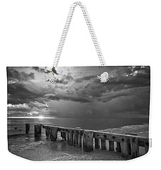 Storm Over Naples Florida Beach Weekender Tote Bag