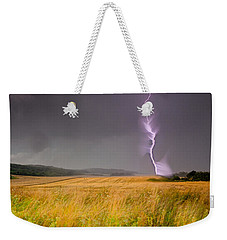 Storm Over The Wheat Fields Weekender Tote Bag