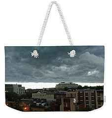 Storm Over West Chester Weekender Tote Bag by Ed Sweeney