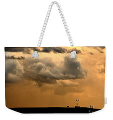 Storm's A Brewing Weekender Tote Bag by Steven Reed