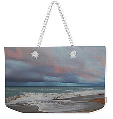 Storms Comin' Weekender Tote Bag by Mim White