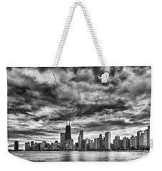 Storms Over Chicago Weekender Tote Bag