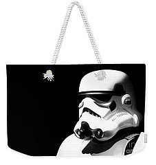 Weekender Tote Bag featuring the photograph Stormtrooper by Chris Thomas