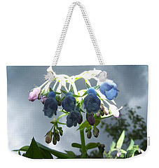 Stormy Bluebells Weekender Tote Bag