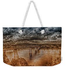 Stormy Clouds Weekender Tote Bag