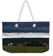 Stormy Countryside Weekender Tote Bag