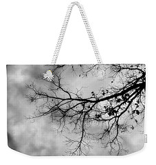 Stormy Morning In Black And White Weekender Tote Bag