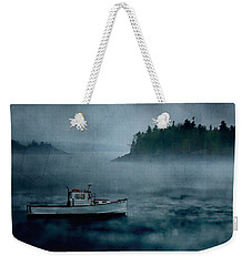 Stormy Night Off The Coast Of Maine Weekender Tote Bag