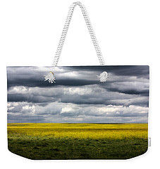 Stormy Plains Weekender Tote Bag