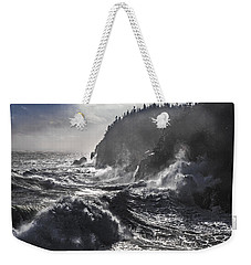 Stormy Seas At Gulliver's Hole Weekender Tote Bag