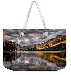 Stormy Sunset At Tenaya Weekender Tote Bag by Cat Connor