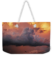 Stormy Sunset Weekender Tote Bag by Ed Sweeney