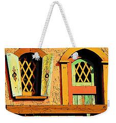 Storybook Window And Door Weekender Tote Bag by Rodney Lee Williams