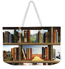 Storyworld Weekender Tote Bag by Cynthia Decker