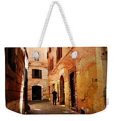 Strade Di Ciottoli Weekender Tote Bag by Micki Findlay