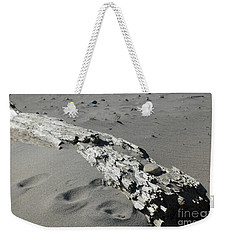 Weekender Tote Bag featuring the photograph Stranded by Christiane Hellner-OBrien
