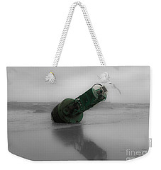 Weekender Tote Bag featuring the photograph Stranded Too by Angela DeFrias