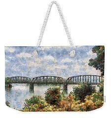 Strang Bridge Weekender Tote Bag