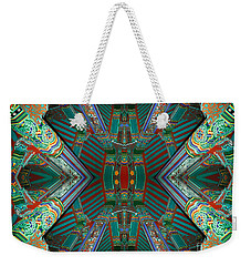 strange architecture surrealism photography - Beam Me Up VI Weekender Tote Bag