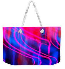 Strange Pink Weekender Tote Bag