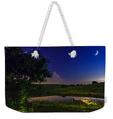 Strangers In The Night Weekender Tote Bag