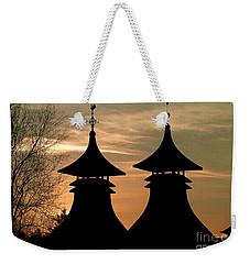 Strathisla Distillery Sunset Weekender Tote Bag by Phil Banks
