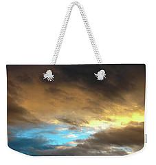 Stratus Clouds At Sunset Bring Serenity Weekender Tote Bag