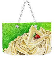 Strawberry Passion Weekender Tote Bag