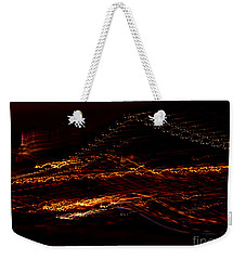 Streaks Across The Bridge Weekender Tote Bag