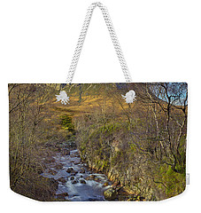 Stream Below Buachaille Etive Mor Weekender Tote Bag