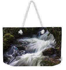 Weekender Tote Bag featuring the photograph Stream On Eume River Galicia Spain by Pablo Avanzini